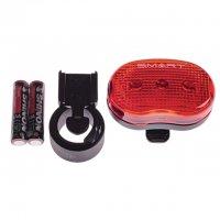 Smart Rücklicht RL403R 4 LED inkl. Batterien und Halter
